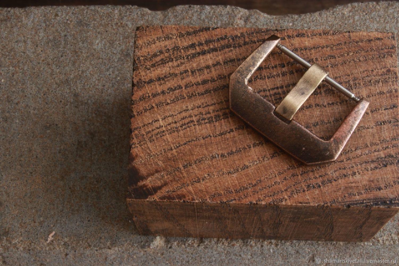 Watch buckle (buckle) made of bronze, Watch Straps, Volgograd,  Фото №1