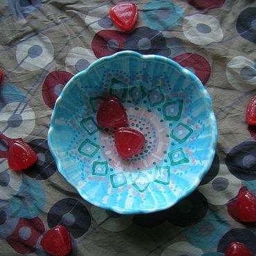 "Посуда ручной работы. Ярмарка Мастеров - ручная работа Пиалка ""Шахерезада"". Handmade."