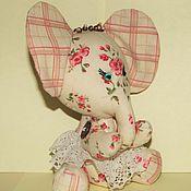 """Куклы и игрушки ручной работы. Ярмарка Мастеров - ручная работа """"Слонёнок Цветочек - хочу на ручки"""". Handmade."""