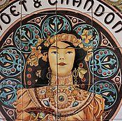 Дизайн и реклама handmade. Livemaster - original item work on the order. painted ceramics. Panel
