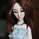 Коллекционные куклы ручной работы. Ярмарка Мастеров - ручная работа. Купить Шарнирная кукла Эвита (BJD). Handmade. Тёмно-бирюзовый