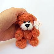 Куклы и игрушки ручной работы. Ярмарка Мастеров - ручная работа Вязаный мишка Малыш. Handmade.