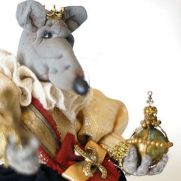 Сувениры и подарки ручной работы. Ярмарка Мастеров - ручная работа Крыса царских кровей. Handmade.