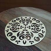 Утварь ручной работы. Ярмарка Мастеров - ручная работа Набор подставок из дерева. Handmade.