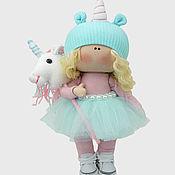 Материалы для творчества handmade. Livemaster - original item Sabrina doll sewing kit. Handmade.