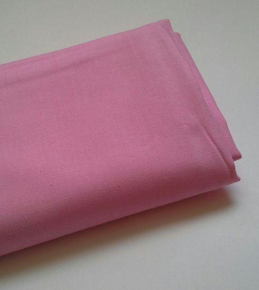 Шитье ручной работы. Ярмарка Мастеров - ручная работа. Купить Хлопок розовый плотный. Handmade. Хлопок для творчества, хлопок для скрапа