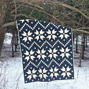 Для дома и интерьера ручной работы. Ярмарка Мастеров - ручная работа Лоскутное одеяло Зимнее пэчворк. Handmade.
