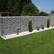 Дача и сад handmade. Livemaster - original item Pergone fence welded gabion in the style of hi-tech. Handmade.