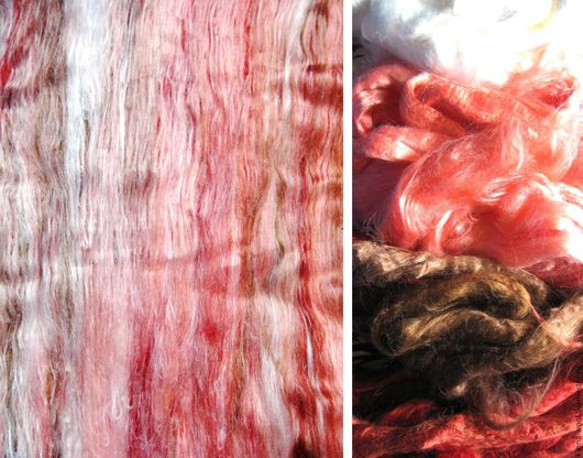 вискоза для валяния вискоза для прядения волокна вискозы декоративные волокна для мокрого валяния натуральная вискоза  вискоза в баттах бат ролл кардер ----------------------------------