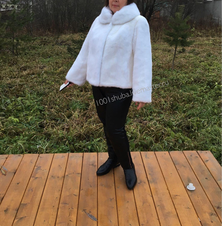 Fur coat and white mink, Fur Coats, Moscow,  Фото №1