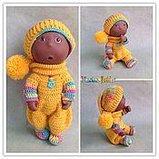 """Куклы и игрушки ручной работы. Ярмарка Мастеров - ручная работа Комплект """"Урожай"""" для пупса.. Handmade."""