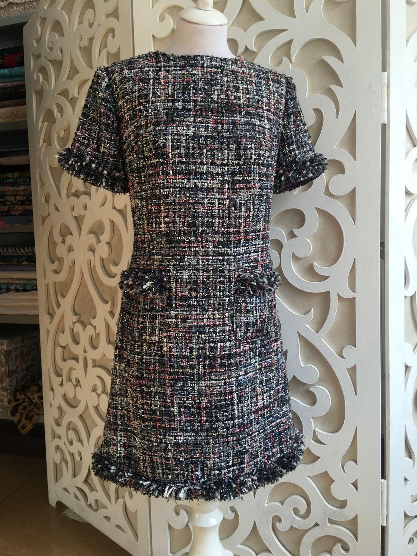 Платье в стиле Chanel, Платья, Санкт-Петербург, Фото №1