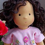 """Куклы и игрушки ручной работы. Ярмарка Мастеров - ручная работа вальдорфская кукла  """"Симона"""" 36см. Handmade."""
