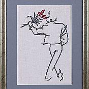 Картины и панно handmade. Livemaster - original item Cross stitch series by Ty Wilson. Handmade.