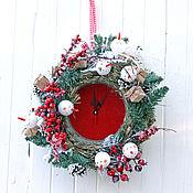 Подарки к праздникам ручной работы. Ярмарка Мастеров - ручная работа Праздничные часы Bouli-Bouli. Handmade.