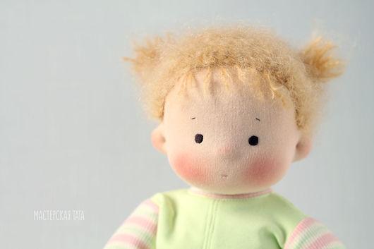 Развивающие игрушки ручной работы. Ярмарка Мастеров - ручная работа. Купить Непоседа, игровая текстильная кукла. Handmade. Вальдорфская кукла