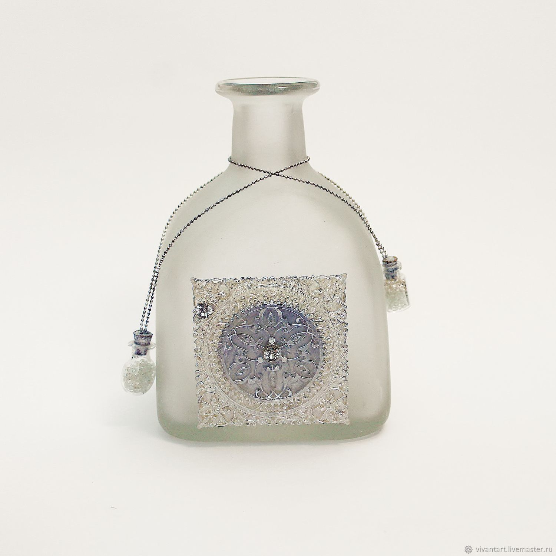 Бутылка для аромапалочек и мини-букетов от VivantArt Decor, Бутылки, Москва,  Фото №1