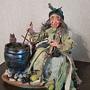 Куклы и пупсы ручной работы. Ярмарка Мастеров - ручная работа Баба Яга Знахарка. Handmade.