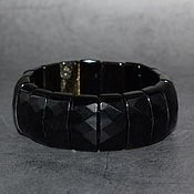 Украшения handmade. Livemaster - original item Natural Golden obsidian bracelet. Handmade.