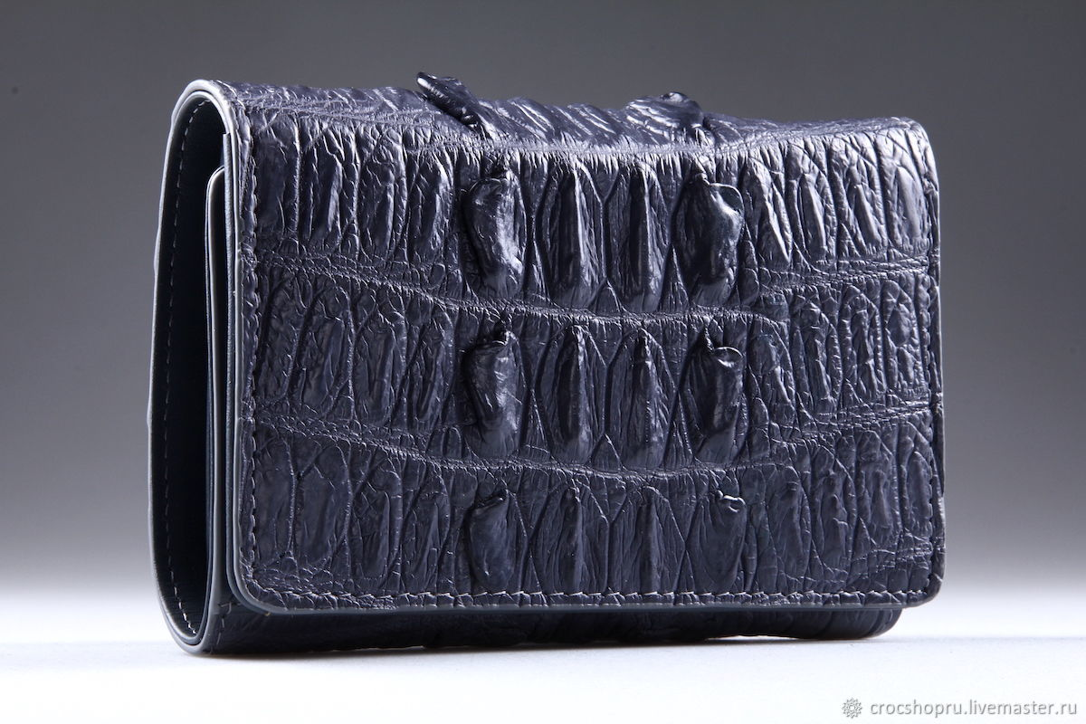 Wallet crocodile leather IMA0216E2, Wallets, Moscow,  Фото №1