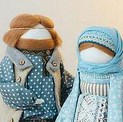 """Куклы и игрушки ручной работы. Ярмарка Мастеров - ручная работа """"Русское семейство"""". Handmade."""