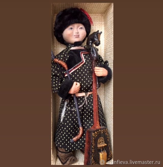 interior doll: Boy in national costume', Interior doll, Ulan-Ude,  Фото №1
