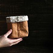"""Для дома и интерьера ручной работы. Ярмарка Мастеров - ручная работа Мини-мешок """"Little Things"""" (корзина для хранения). Handmade."""