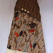 Одежда ручной работы. Ярмарка Мастеров - ручная работа Бохо юбка Инга. Handmade.