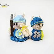 Куклы и игрушки ручной работы. Ярмарка Мастеров - ручная работа Викинг и Валькирия. Handmade.