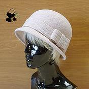 Аксессуары handmade. Livemaster - original item Stylish lady`s hat. 100% wool. Different colors.. Handmade.