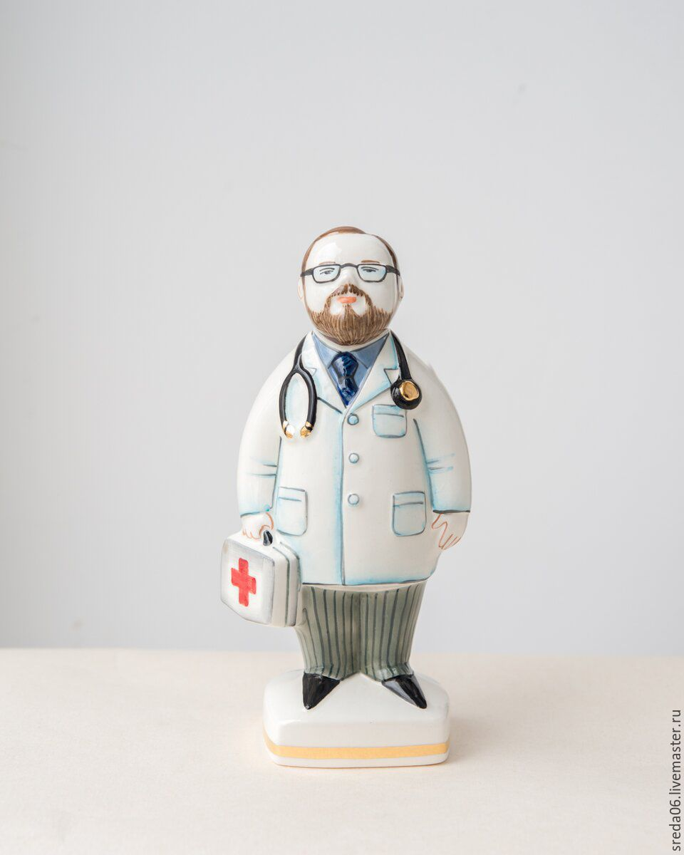 Мужчина - врач, Статуэтки, Сергиев Посад,  Фото №1