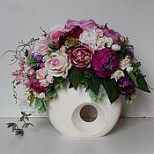 Цветы и флористика handmade. Livemaster - original item Flower composition .. Handmade.
