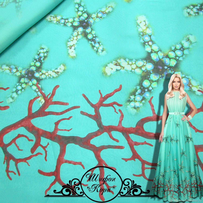 Chiffon silk, Fabric, Sochi,  Фото №1