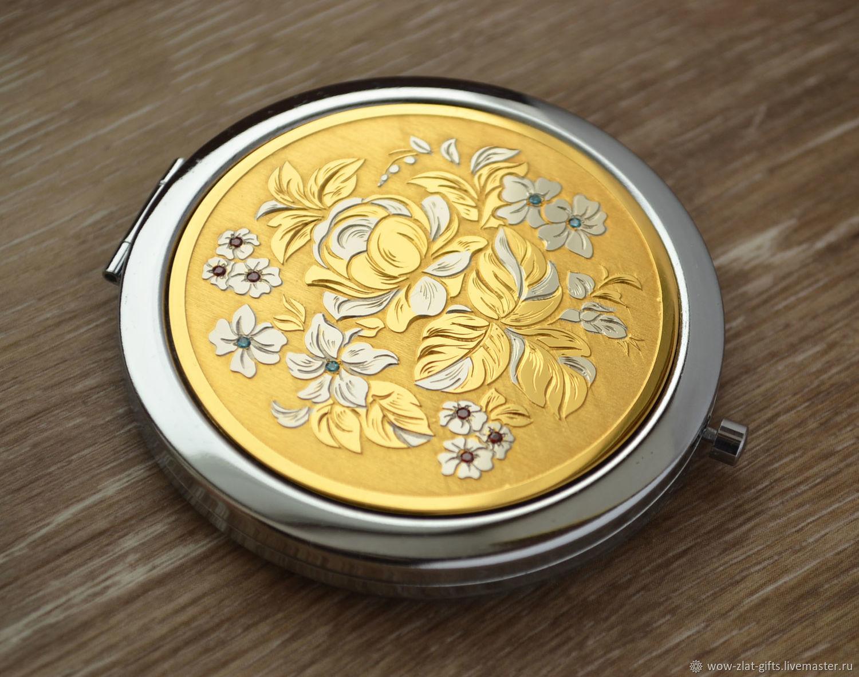 THE MIRROR'FLOWERS', Pocket mirrors, Chrysostom,  Фото №1