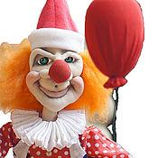 Куклы и игрушки ручной работы. Ярмарка Мастеров - ручная работа подарок на день рождения. клоун.. Handmade.