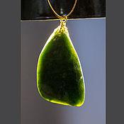 Украшения handmade. Livemaster - original item Jade pendant. Handmade.
