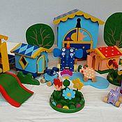 Мягкие игрушки ручной работы. Ярмарка Мастеров - ручная работа Игрушки Деревяшки, полный комплект. Handmade.