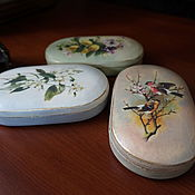 Для дома и интерьера ручной работы. Ярмарка Мастеров - ручная работа Овальные шкатулки. Handmade.