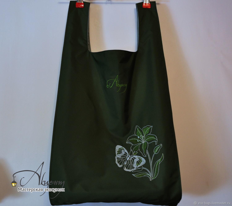 Двойная сумка для покупок Фантазия цвет темный лес, Сумка-шоппер, Гай,  Фото №1