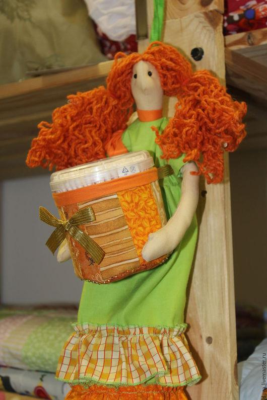 """Ванная комната ручной работы. Ярмарка Мастеров - ручная работа. Купить Хранительница ватных палочек  """"Лили"""" № 501. Handmade."""
