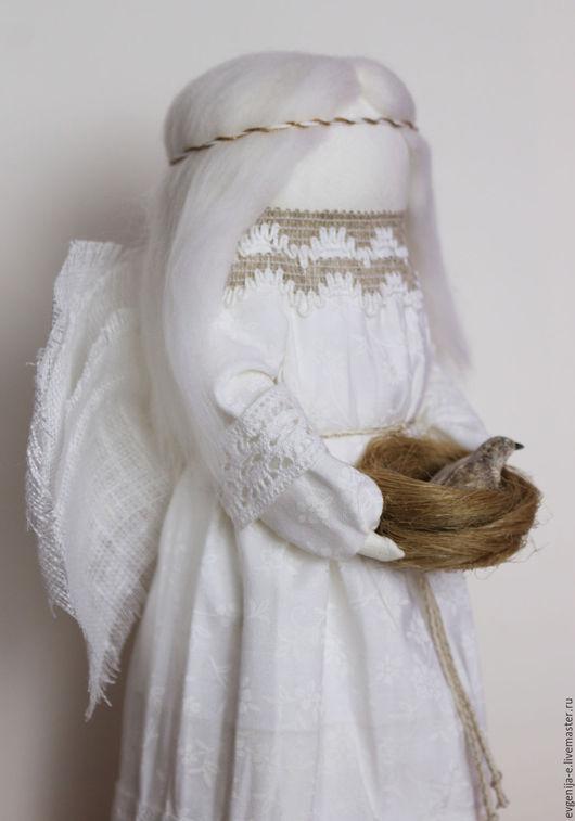 """Народные куклы ручной работы. Ярмарка Мастеров - ручная работа. Купить """"Ангел Благой Вести"""" кукла - образ. Handmade. Белый"""