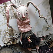 Куклы и игрушки ручной работы. Ярмарка Мастеров - ручная работа Крольчиха Фанни. Handmade.
