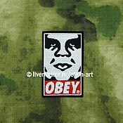 Материалы для творчества handmade. Livemaster - original item OBEY (a person). Handmade.