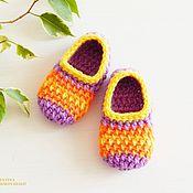 Работы для детей, handmade. Livemaster - original item booties - peds knitted newborn toddler. Handmade.