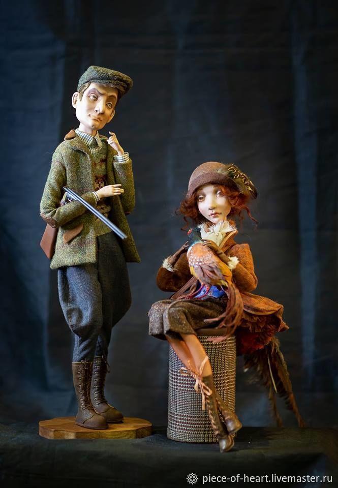 Every hunter wants to know...author's doll, Dolls, Khmelnitsky,  Фото №1
