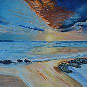 """Картины и панно ручной работы. Ярмарка Мастеров - ручная работа Картина """"Набежавшая волна"""". Handmade."""