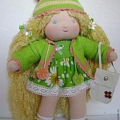 """Куклы и игрушки ручной работы. Ярмарка Мастеров - ручная работа Кукла """"Златушка"""" с огромным гардеробом. Handmade."""