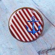"""Украшения ручной работы. Ярмарка Мастеров - ручная работа """"Якорь! Я стабильность"""" кольцо. Handmade."""