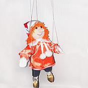 Куклы и пупсы ручной работы. Ярмарка Мастеров - ручная работа Кукла-марионетка Буратино. Handmade.