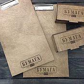 Папки ручной работы. Ярмарка Мастеров - ручная работа Планшет под меню и счетчицы для кафе и ресторана. Handmade.